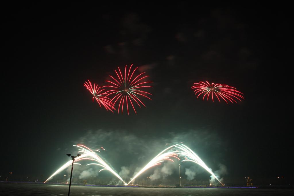 彩虹桥烟花-特效焰火